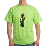 Paint gurl Green T-Shirt