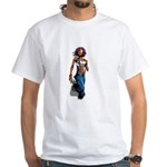 Paint gurl White T-Shirt