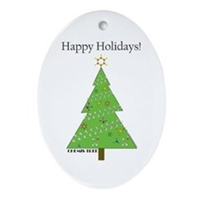 Chemis-Tree Ornament (Oval)