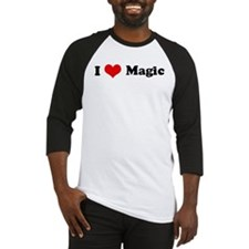 I Love Magic Baseball Jersey