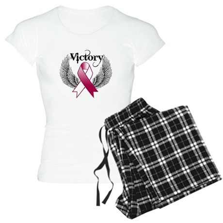Victory Head Neck Cancer Women's Light Pajamas