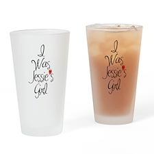Jesse's Girl Drinking Glass