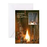 Bake and Brew Greeting Cards (Pk of 10)