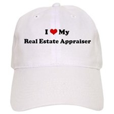 I Love Real Estate Appraiser Baseball Cap