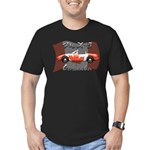 Miata MX5 Canada Men's Fitted T-Shirt (dark)