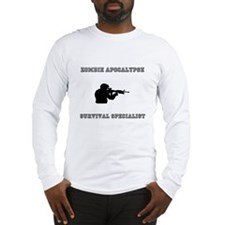 Zombie Survivalist Long Sleeve T-Shirt