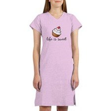 Cute Cupcake Women's Nightshirt