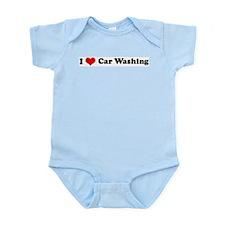 I Love Car Washing Infant Creeper