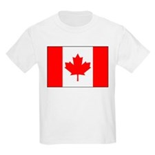 Canadian National Flag  Kids T-Shirt