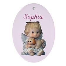 Sophia Ornament (Oval)