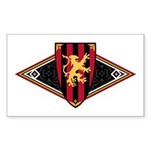 Medieval Shield Graphic Sticker (50 Pk)