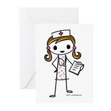 Cute Nurse Greeting Cards (Pk of 10)