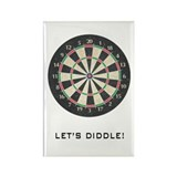 Dartboard Rectangle Magnet