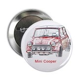 "Mini Cooper 2.25"" Button"