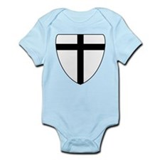 Teutonic Knights Coat of Arms Infant Bodysuit