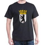 Berlin Coat Of Arms Black T-Shirt