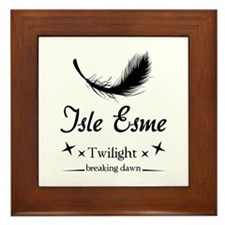 Isle Esme Framed Tile