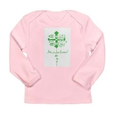 Unique Liver disease Long Sleeve Infant T-Shirt