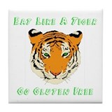 Gluten Free Tiger Tile Coaster
