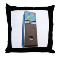 A Vending Machine On Your Throw Pillow