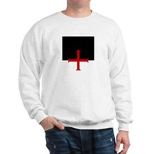 Knights Templar (black/white) Sweatshirt