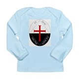 Knights Templar (Latin) Long Sleeve Infant T-Shirt