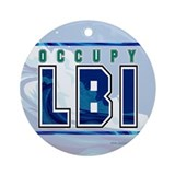 OccupyLBI... Ornament (Round)