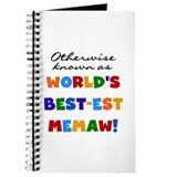 Otherwise Known Best Memaw Journal