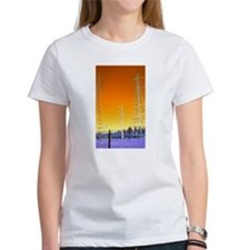 Unique Two towers Tee