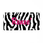 Zebra License Plate