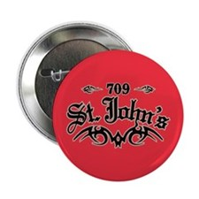 "St. John's 709 2.25"" Button"