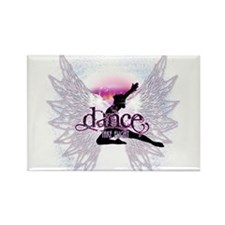 Crystal Dancer Rectangle Magnet