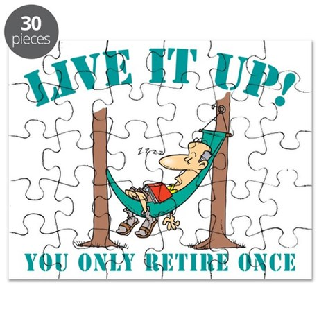 Funny Retirement Puzzle