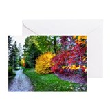AUTUMN FOLIAGE Greeting Card