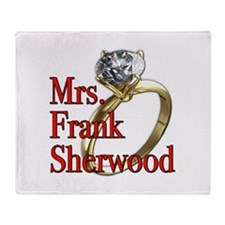 Army Wives Mrs. Frank Sherwood Throw Blanket