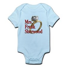 Army Wives Mrs. Frank Sherwood Infant Bodysuit