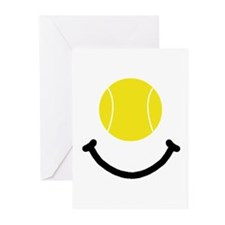 Tennis Smile Greeting Cards (Pk of 10)