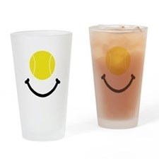 Tennis Smile Drinking Glass