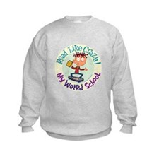 Read Like Crazy! Sweatshirt