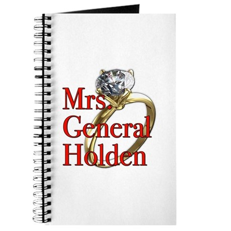 Mrs. General Holden Army Wives Journal