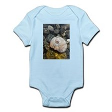 Seashell Resting in the Water Infant Bodysuit