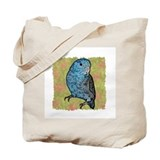 Blue Parrotlet Art Tote Bag