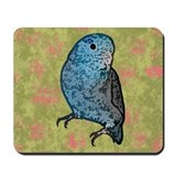 Blue Parrotlet Art Mousepad