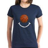 Basketball Smile Tee