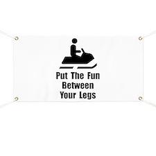 Snowmobile Fun Banner