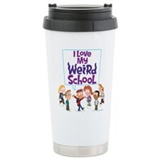 I Love My Weird School! Ceramic Travel Mug