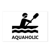 Aquaholic Postcards (Package of 8)