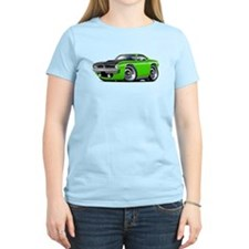 1970 AAR Cuda Lime Car T-Shirt