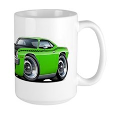 1970 AAR Cuda Lime Car Mug