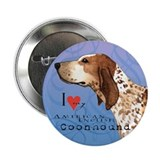 "American English Coonhound 2.25"" Button"